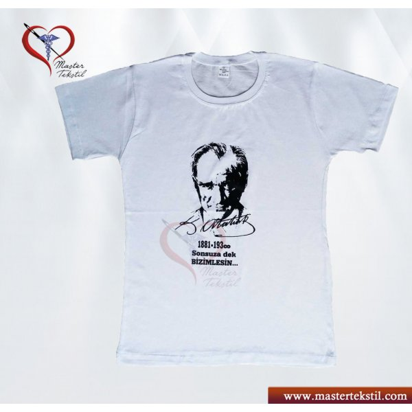 Atatürk Baskılı Tshirt