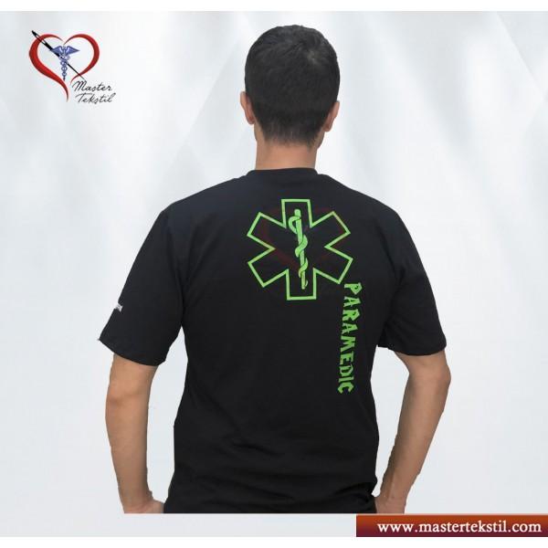 Paramedic Temalı Yeni tasarım  tişört